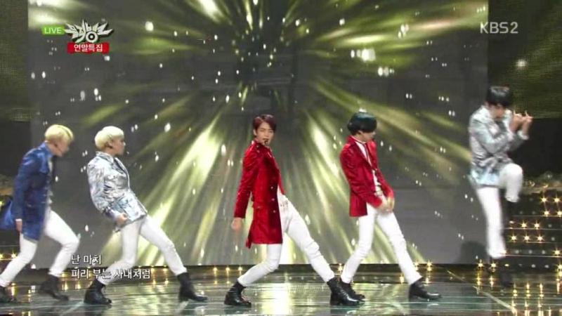 SHINee - Everybody (201213 on KBS Music Bank Christmas Special)
