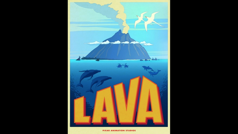 Лава добрый короткометражный мультфильм Pixar