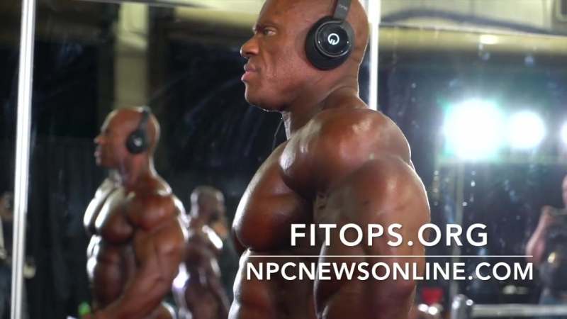 Mr.Olympia 2017 - Phil Heath Backstage