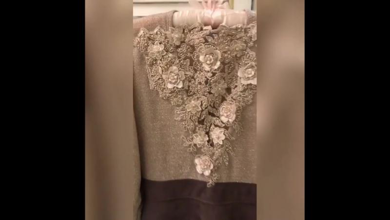Платье с эффектом сияние , и с 3D кружевом 😍😍😍🔥🔥🔥