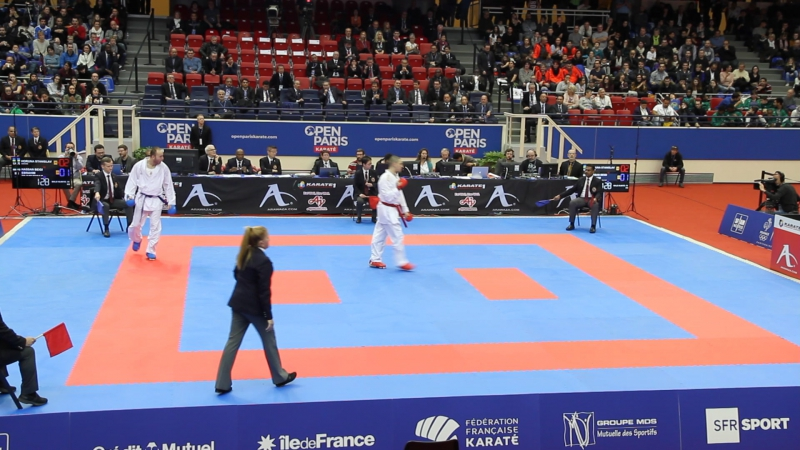 Karate1 Premier League - Paris 2018 Horuna (UKR) -Hassa_Beigi (IRI)