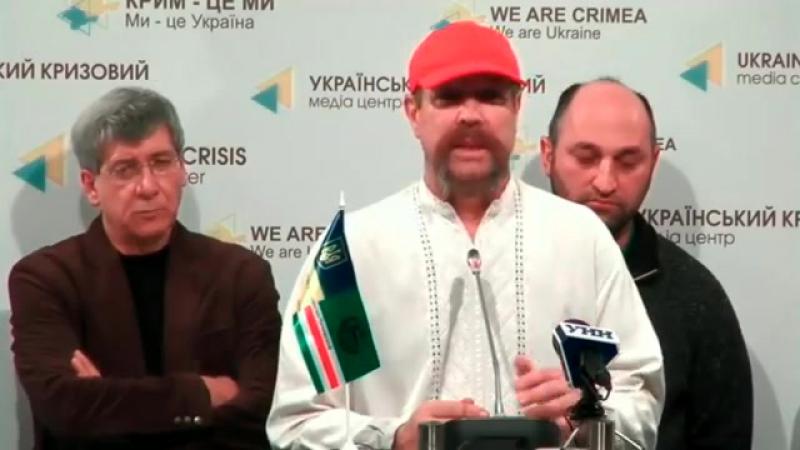 10. 04.03.2015 Алихаджиев, Брифинг в Ukraine Crisis Media Center