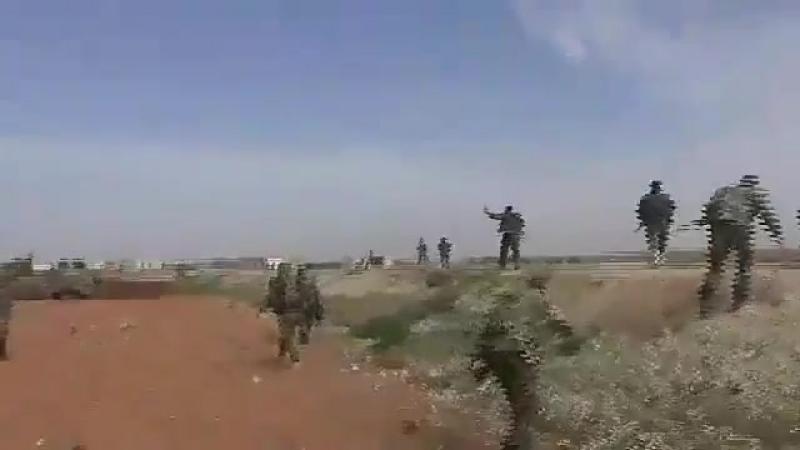 САА ведет бои в провинции Hama