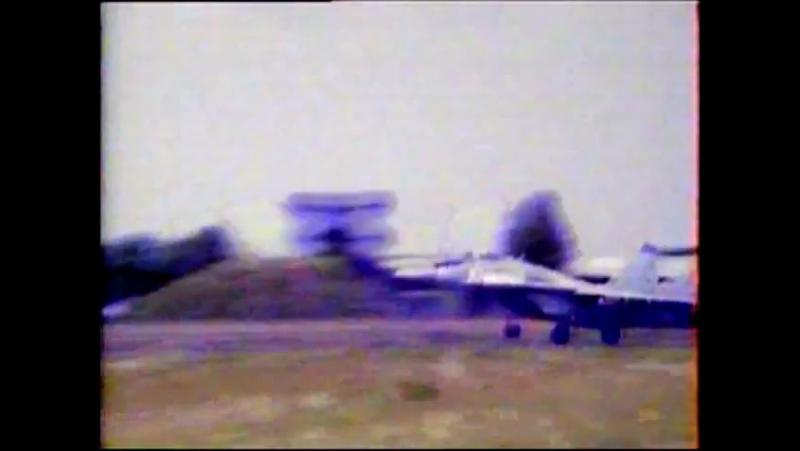 Документальный фильм о 85-м ГИАП (аэродром Мерзебург (ГДР))