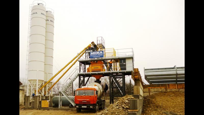 Видео от наших Заказчиков: Нальчик, бетонный завод MEKAMIX-60 COMPACT