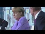 Этот взгляд Меркель , конечно , такооой красноречивый Лучше всяких слов