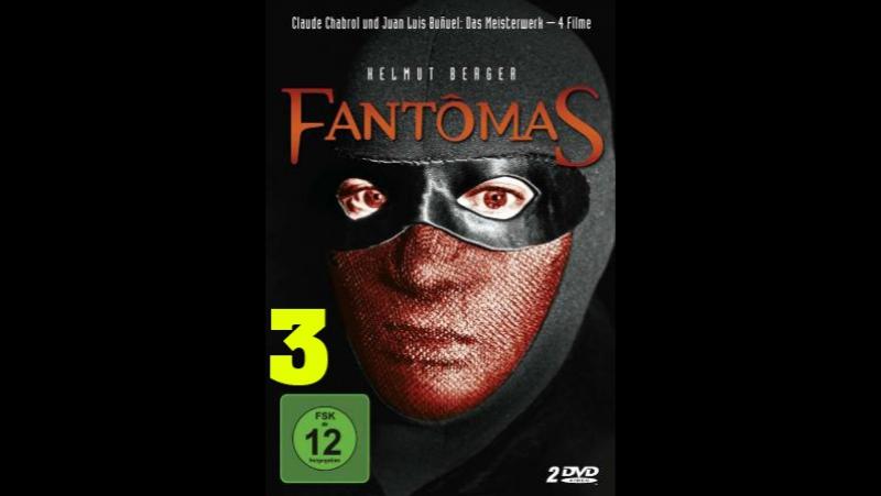 Фантомас ფანტომასი Fantômas 1980 3 серия