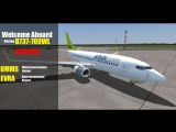 [LIVE] FSX   UMMS (Minsk) - EVRA (Riga)   B737   AIRBALTIC