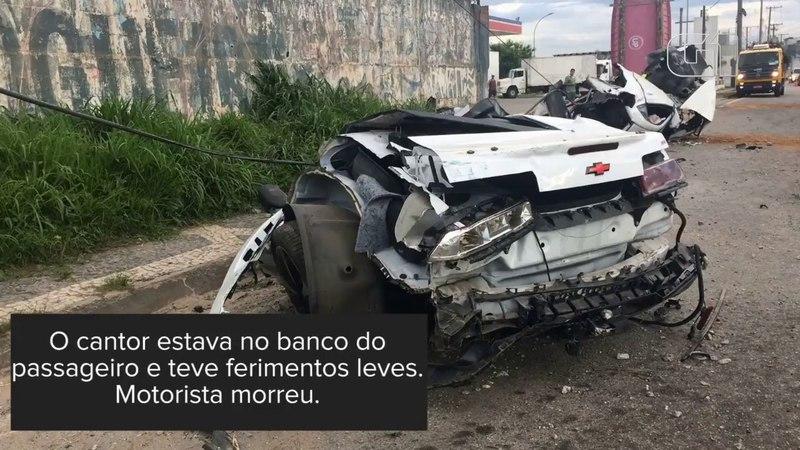 Carro de luxo de MC Brisola que partiu ao meio na Fernão Dias estava em alta velocidade