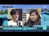 180319 SBS News - Lovelyz in North Korea