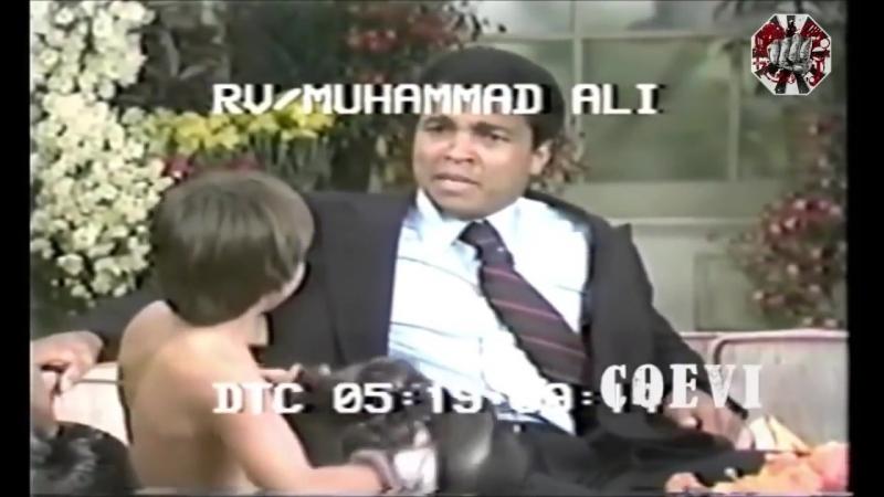 великий Мухаммед Али на телешоу
