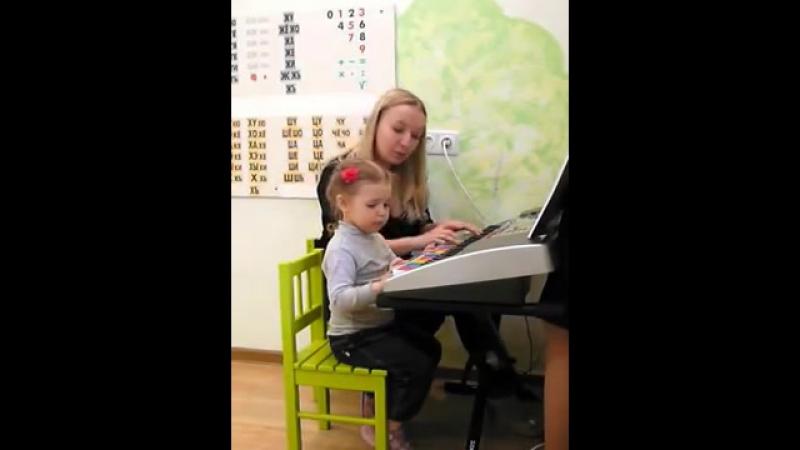 Музыкальное занятие Маленький Моцарт