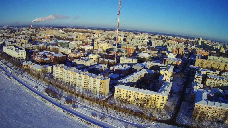 Hubsan H501SS pro - Архангельск 8 марта.