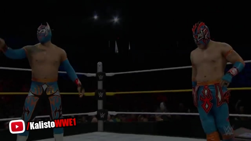 WWE The Lucha Dragons Vs. The Ascension - Main Event September 15, 2015 [Full Match] HD