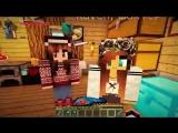 Что делает Девушка когда ЕвгенБро не Дома Майнкрафт ПЕ выживание видео мультик для детей MinecraftPE