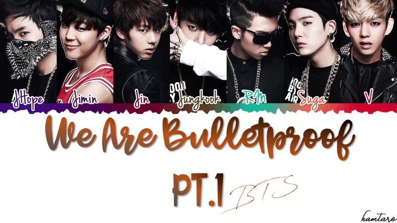 BTS (방탄소년단) - 'We Are Bulletproof Pt.1' (4 BEGINS Ruff) Lyrics [Color Coded_Han_Rom_Eng]