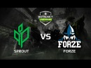 Sprout vs forZe, map 3 mirage, Challenger Series