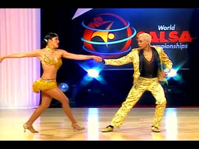 Sarahi Gonzalez Kevin Alzate (Cabaret Division) (World Salsa Championships) (Colombia)