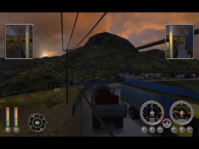 Прохождение 18 WoS: Extreme Trucker 2 12 - Дорога Юнгас: Горный козёл