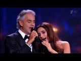 Зара и Андреа Бочелли Молитва Zara and Andrea Bocelli - The Prayer