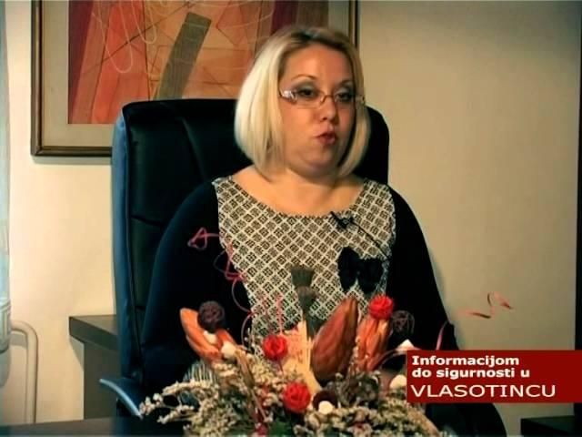 Informacijom do sigurnosti u Vlasotincu - emisija 09 - biblioteka - (TV KCN)