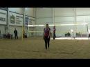 Beach volley Cup U20 Russia 2018 W02 Kovaleva-Kushekova and Movchan-Daineko