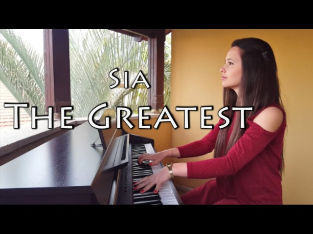 Sia - The Greatest | Piano cover by Yuval Salomon