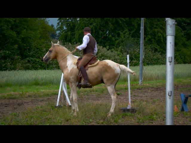 Working-Equitation hero mit Macchiato und Mitja Hinzpeter