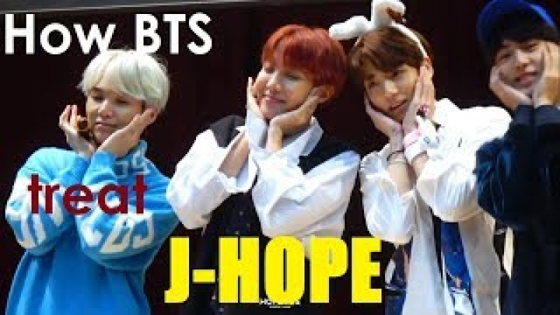 How BTS treat J-Hope~ HAPPYJHOPEDAY