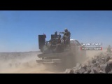 Scenes from the control of the Syrian army and allies on