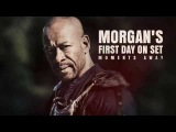 Morgan First Day On Set Of Fear The Walking Dead