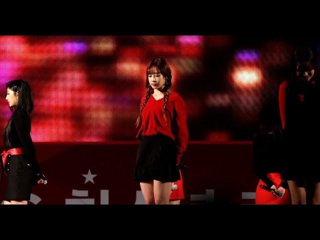 [4K] 171028 LG 청소년 키움 페스티벌 러블리즈(Lovelyz) '안녕(Hi~)' 유지애(Yoo Ji Ae) 직캠 @파주 스타46
