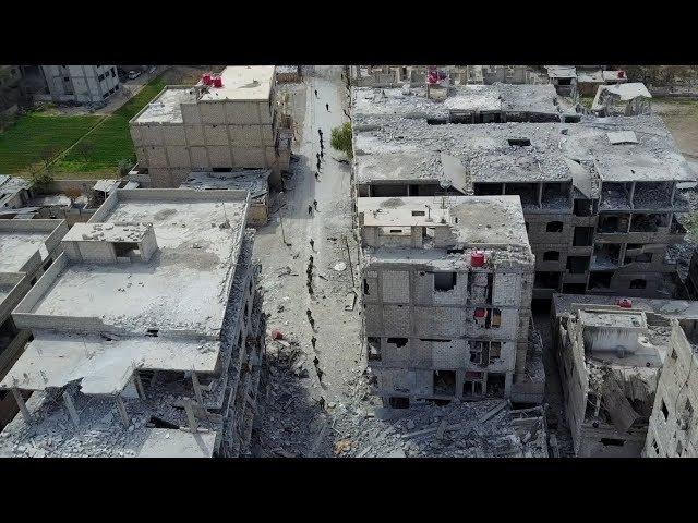 [Syria] Eastern Ghouta. Entering Saqba | Восточная Гута. Зачистка Сакбы