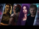 All Marvel Netflix Intros and Opening Credits Daredevil Jessica Jones Luke Cage Iron Fist