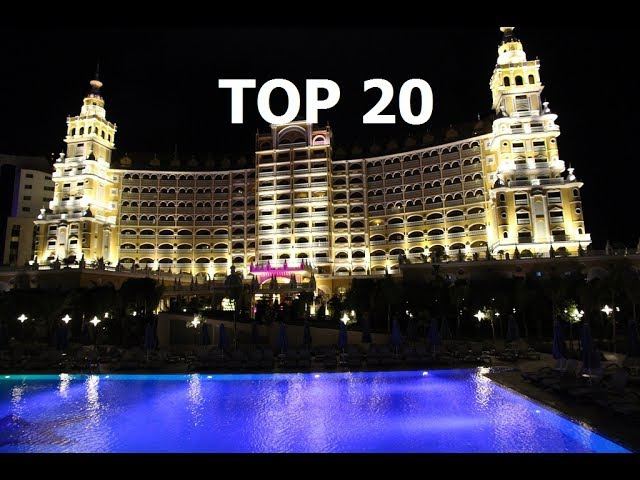 TOP 20 BEST 5 STAR HOTELS ANTALYA, TURKEY 2017.