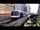 Бангкок скай трейн поездка Видео зарисовка