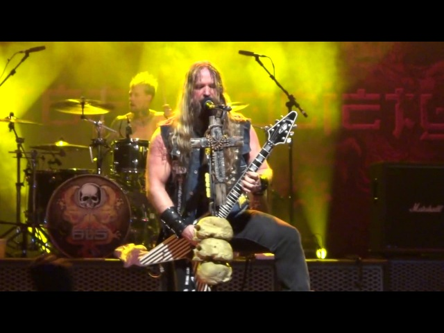 Black Label Society - Overlord AO VIVO Live @ HSBC Sao Paulo / SP - 25 Nov 2012 HD