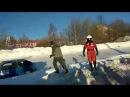 05 01 2018 Авария на 1 этапе Чемпионата и Кубка Удмуртии по трековым гонкам