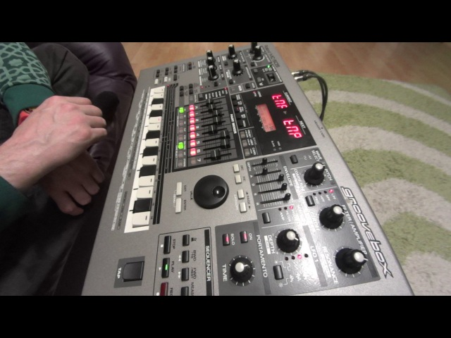 Something like Industrial with Roland's MC 505