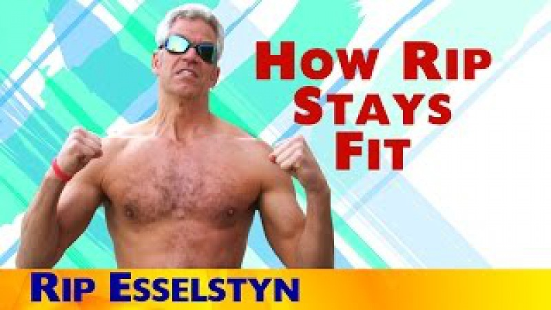 How Rip Esselstyn Stays Fit - The Engine 2 Way!