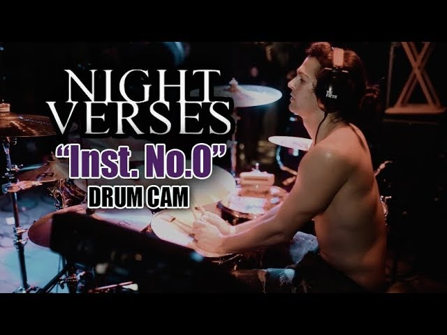 Aric Improta | Night Verses | Inst. No.0 | Drum Cam (LIVE)