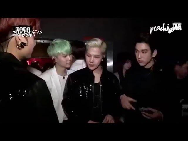 Джексон из got7 испугался Шугу из BTS