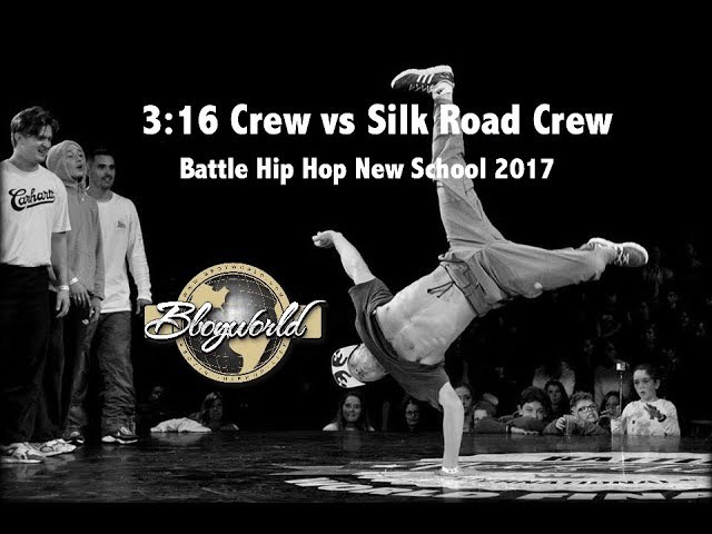Silk Road Crew vs 3:16 Crew Bboy World Battle Hip Hop New School 2017