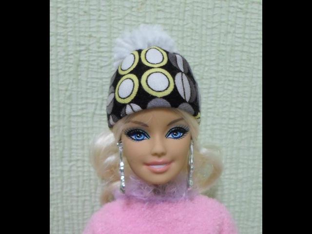 как сшить шапку для куклы