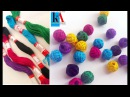 How to make Cotton Thread Beads for Necklace Simple and easy at home