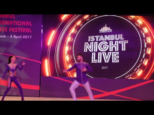 Leo Gomez and Ana Paula Gomez Brazilian Zouk Show @ Istanbul Dance Festival 2017