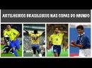 Maiores artilheiros da seleção brasileira nas Copas