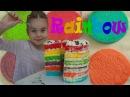 Английский для детей Учим цвета Детское видео про РАДУЖНЫЙ ТОРТ Funny baby Rainbow cake video