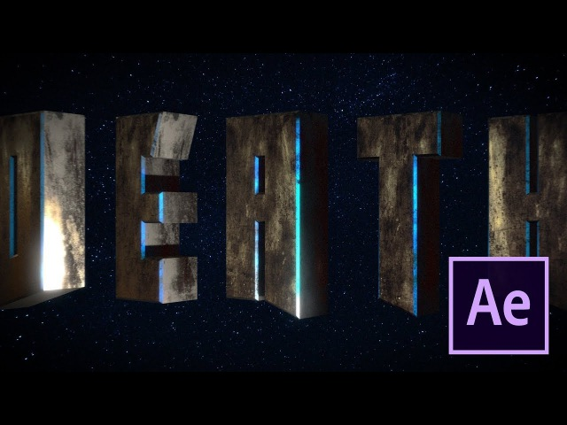 Cinematic epic title intro - After Effects and Element 3D tutorial