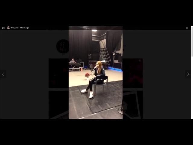 Репетиция Тины Кароль c музыкантами | Первый прямой эфир | Backstage